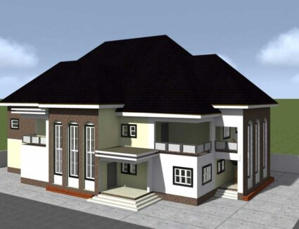 hospital house plan