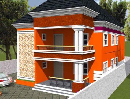 detached house plan