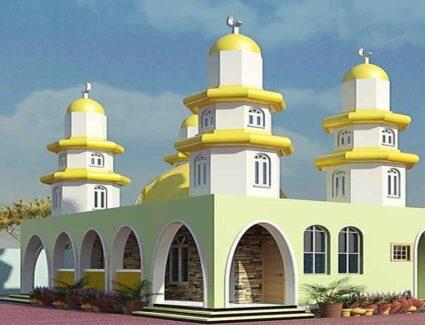 mosque house plan