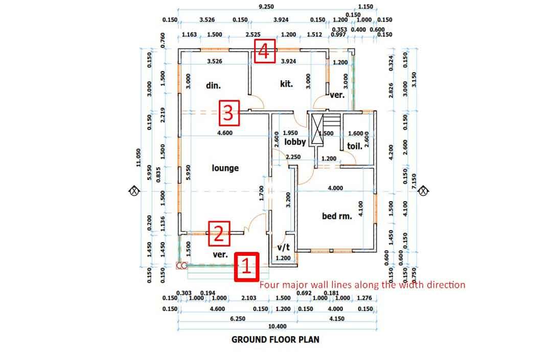 house plan Nigeria floor plan