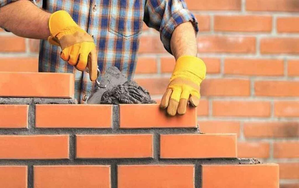 house with bricks
