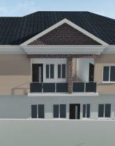 house plan 4 bedroom duplex