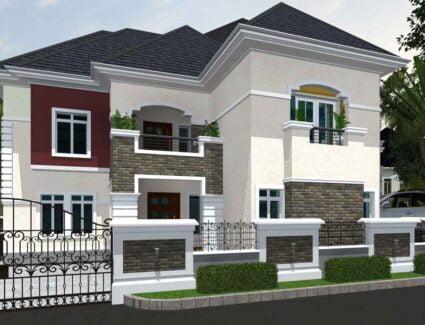 2 bedroom duplex house plan