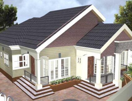 6 bedroom bungalow house plan