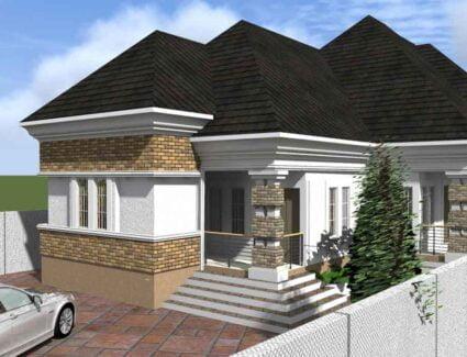 5 bedroom bungalow house plan