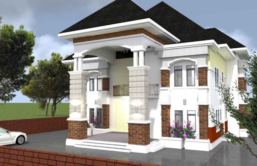 house plan 4 bedroom duplex