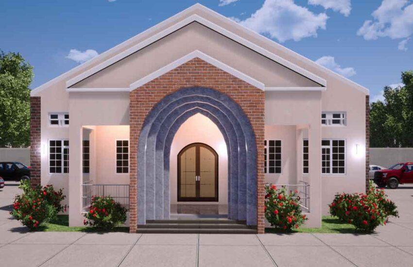 house plan church auditorium